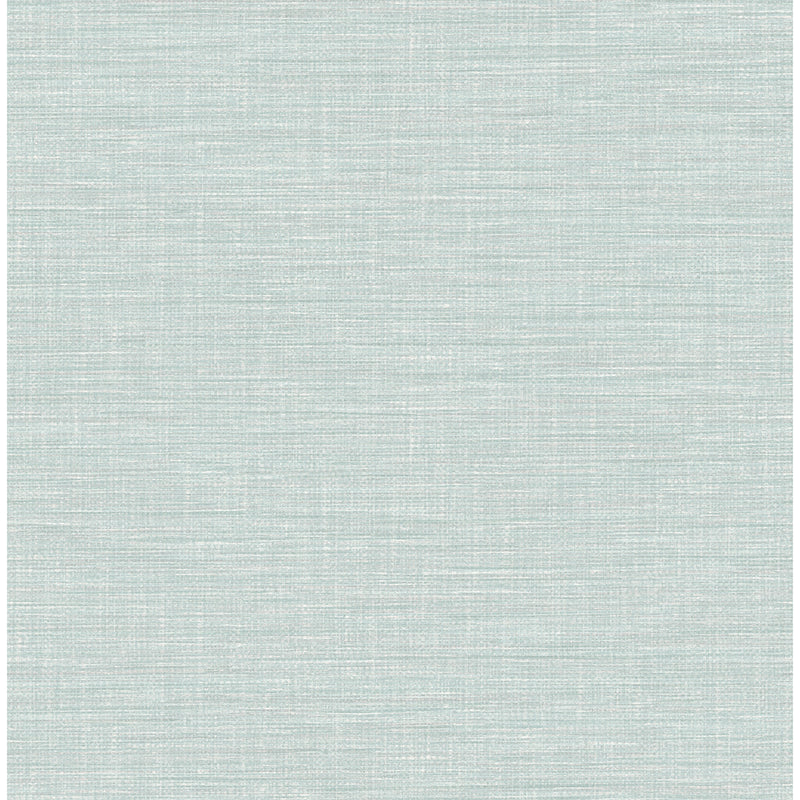 Exhale Blue Woven Texture Wallpaper