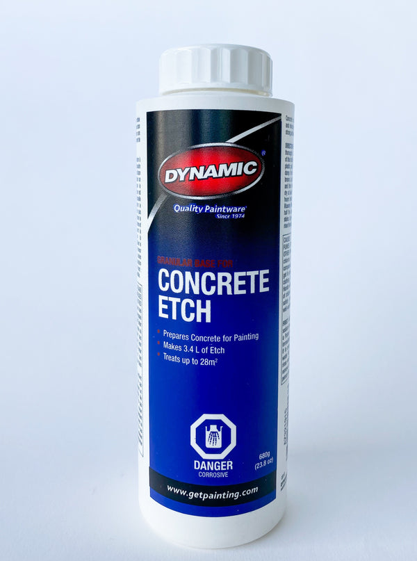 Dynamic Concrete Etch