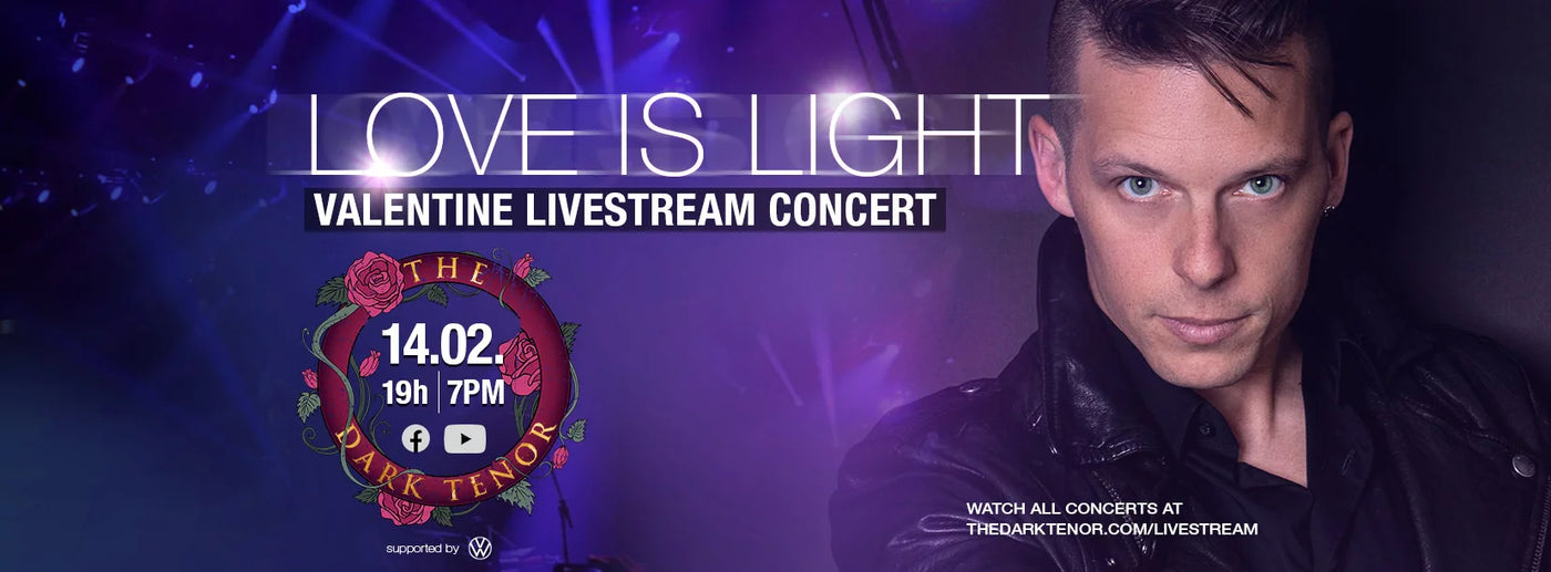 Valentine Livestream - Love is Light