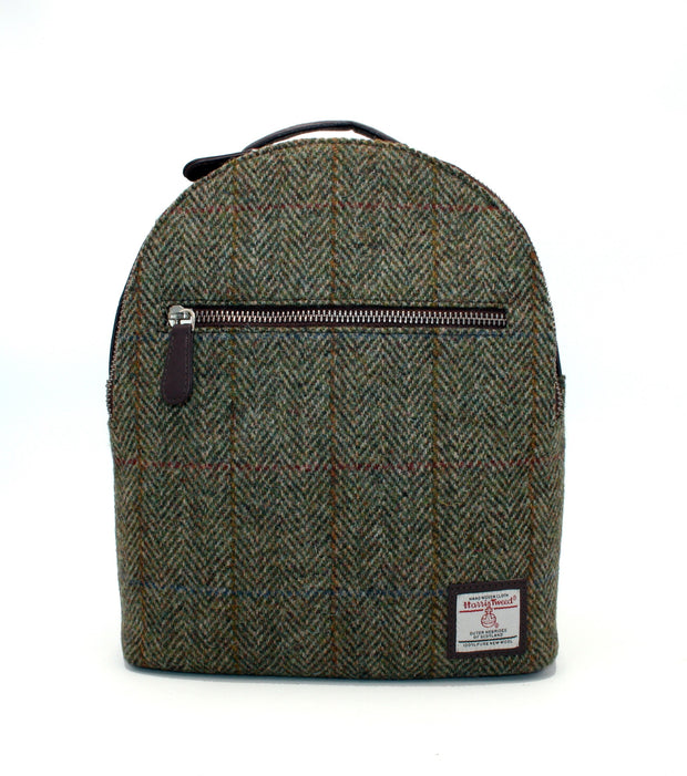 Harris Tweed Backpack Country