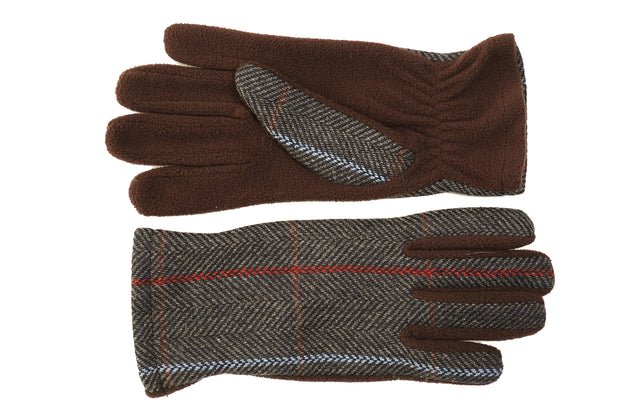 Tweed Gloves Unisex