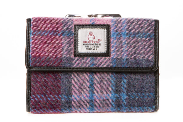 Harris Tweed Clip Purse