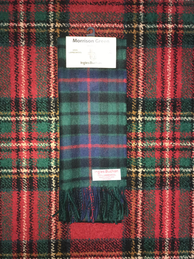 Morrison Green Scarf