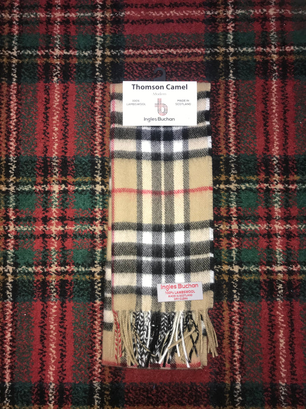 Thomson Camel (Burberry Style) Scarf