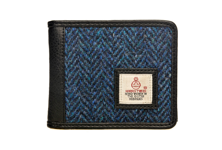 Mens Harris Tweed Coin Wallet
