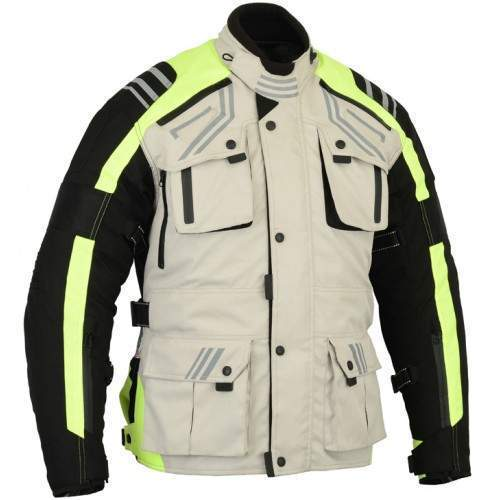 Waterproof textile jackets