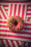 Strawberry Sprinkle Doughnut