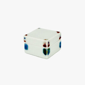 Square White Jewelry Box