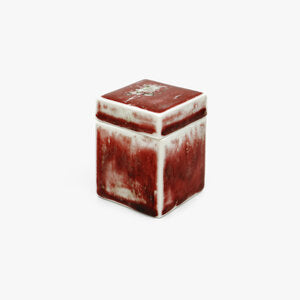 Square Red Jewelry Box