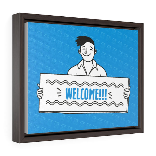Welcome Wrap Canvas