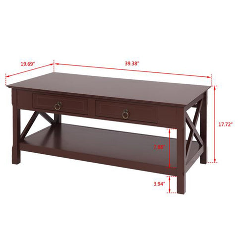 Multi-Functional Table With Storage