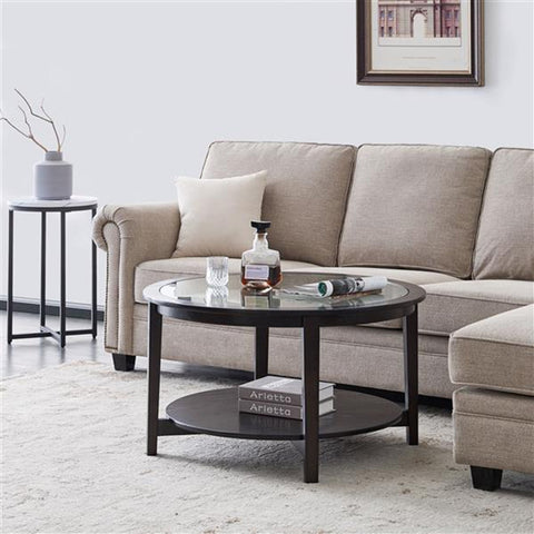 American 2 Layer Side Table