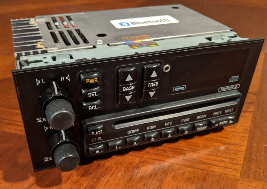 1990/1991 CD Radio Upgrade