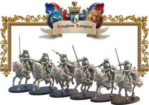 Rangers Knights Lost Kingdom Reino de Mercia  (the 9th age, AOS, warhammer, Bretonia, King of War) - TODO ROL SPAIN