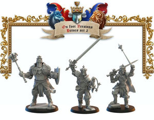 Héroes 2 Lost Kingdom Reino de Mercia  (the 9th age, AOS, warhammer, Bretonia, King of War) - TODO ROL SPAIN
