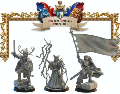 Héroes 1 Lost Kingdom Reino de Mercia  (the 9th age, AOS, warhammer, Bretonia, King of War) - TODO ROL SPAIN