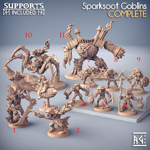 Goblins Sparksoot - TODO ROL SPAIN