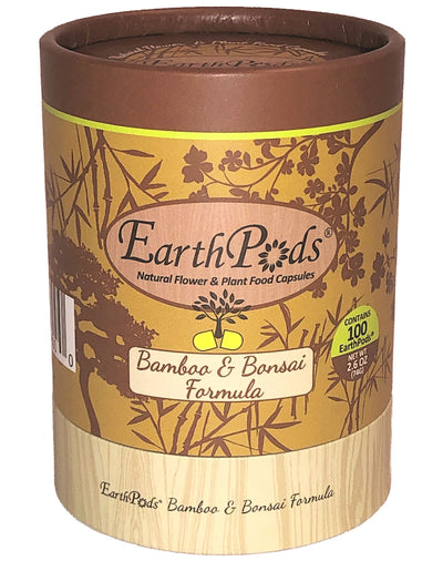 EarthPods® Organic Indoor Bamboo & Bonsai Plant Fertilizer