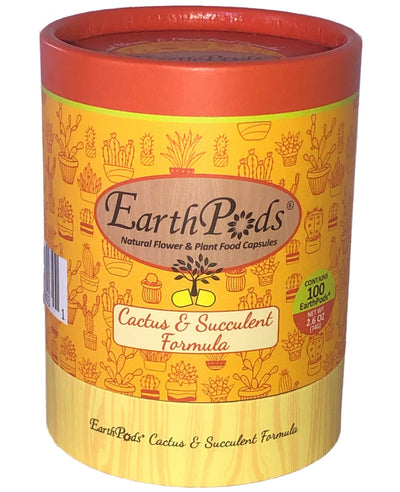 EarthPods® Organic Indoor Cactus, Succulent, Aloe & Jade Fertilizer