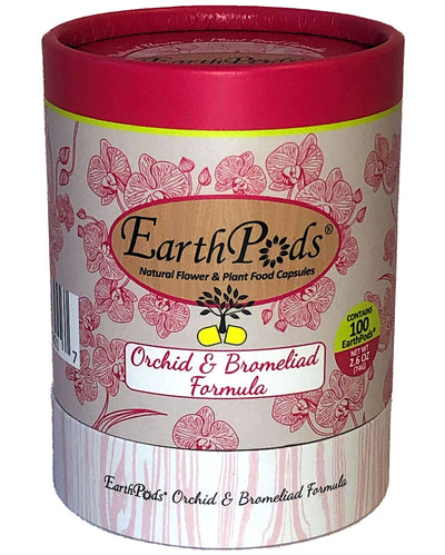 EarthPods® Organic Indoor / Outdoor Orchid, Bromeliad, Tillandsia Air Plant Flower Fertilizer