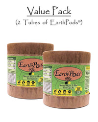 2 EarthPods® Organic Flower Fertilizer & Natural Plant Food Products