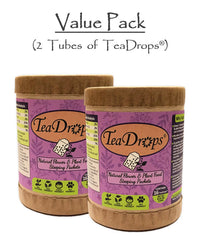 2 TeaDrops® Organic Flower Fertilizer & Natural Plant Food Products