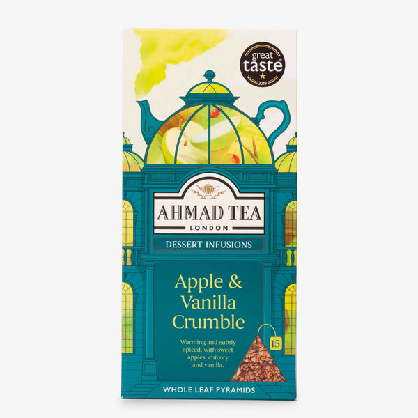 Apple & Vanilla Crumble Dessert Tea - 15 Pyramid Teabags