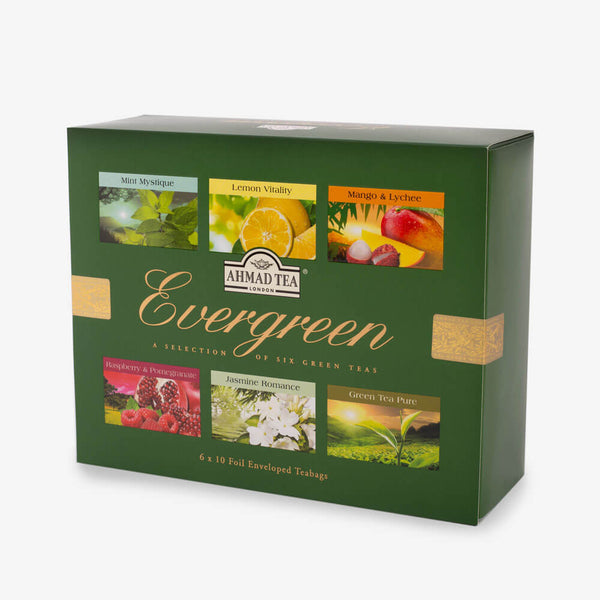 Evergreen Selection - Side angle of box