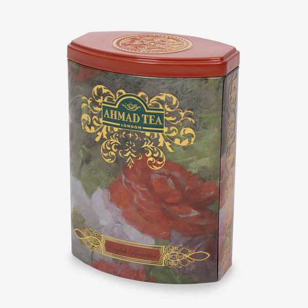 100g Loose Tea Caddy from Fine Tea Collection - Side angle of caddy
