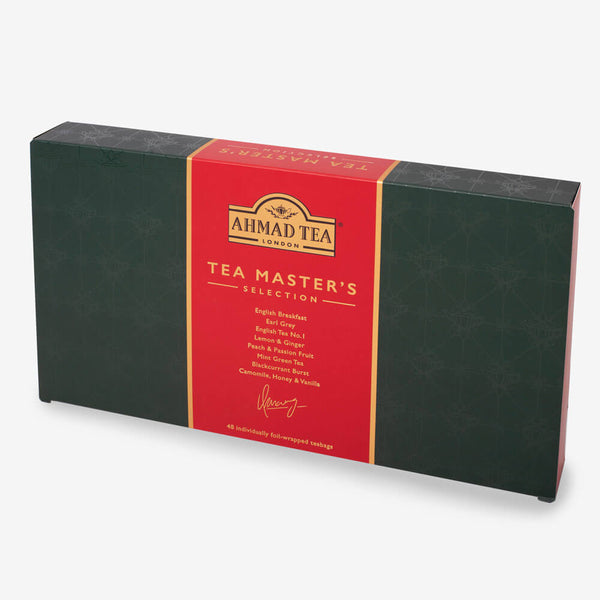 Tea Master's Selection in Green - Side angle of box