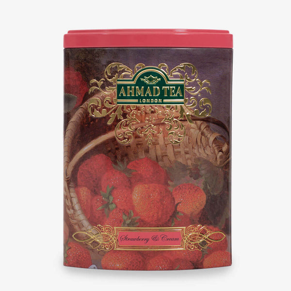 Strawberry & Cream Tea - 100g Loose Leaf Caddy from Fine Tea Collection