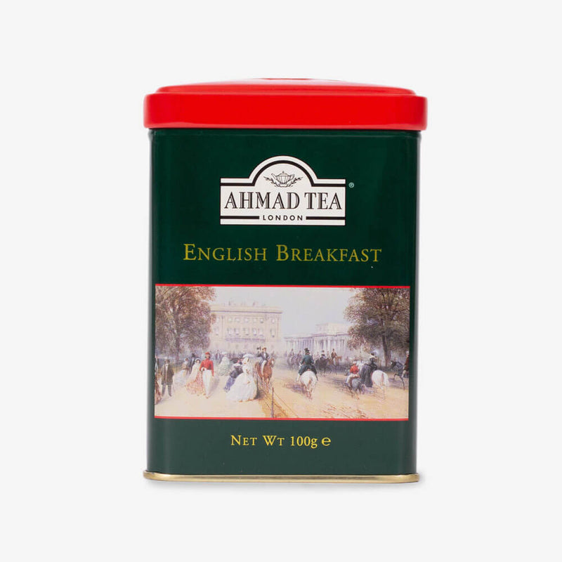 English Breakfast Tea - 100g Loose Tea Caddy from English Scene Collection
