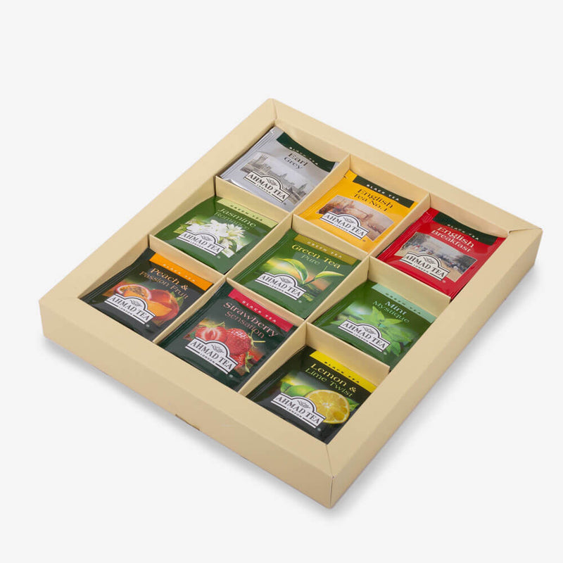 Afternoon Tea Collection - Open box on side