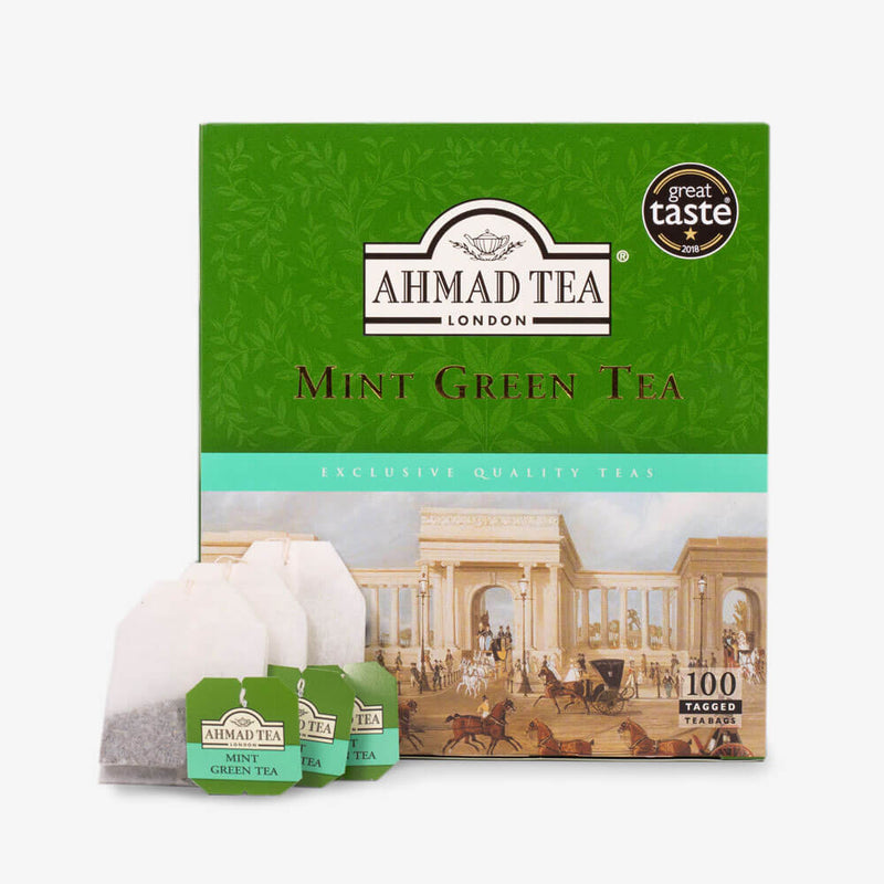 6 Packs of 100 Teabags - Box and teabags