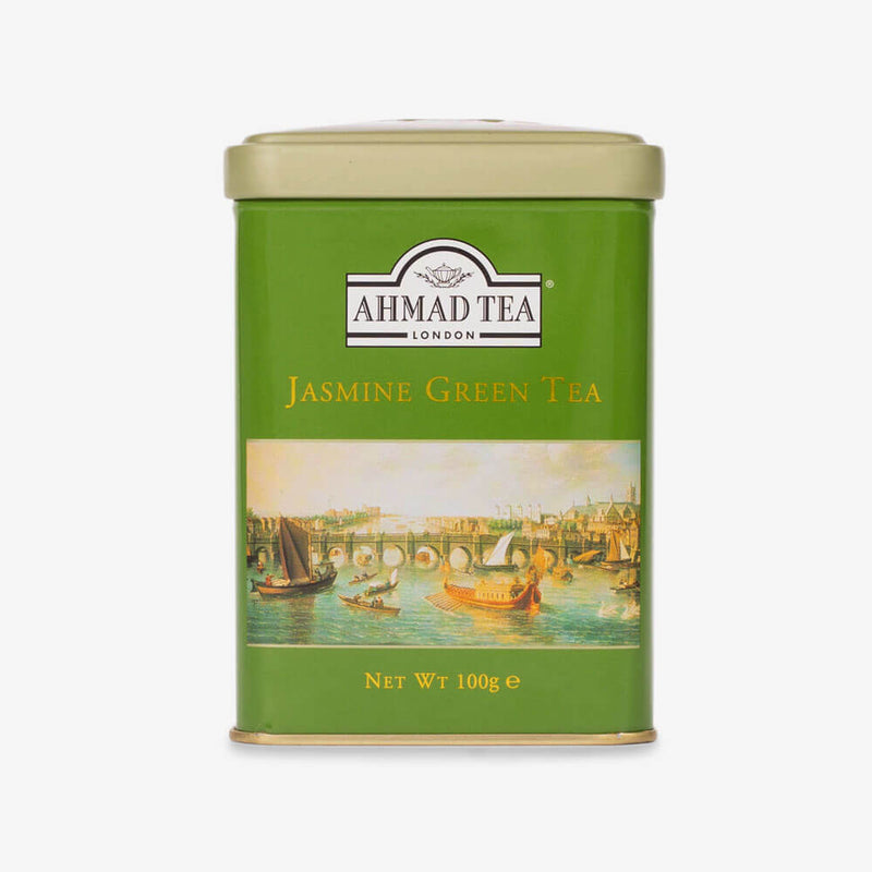 Jasmine Green Tea - 100g Loose Tea Caddy from English Scene Collection