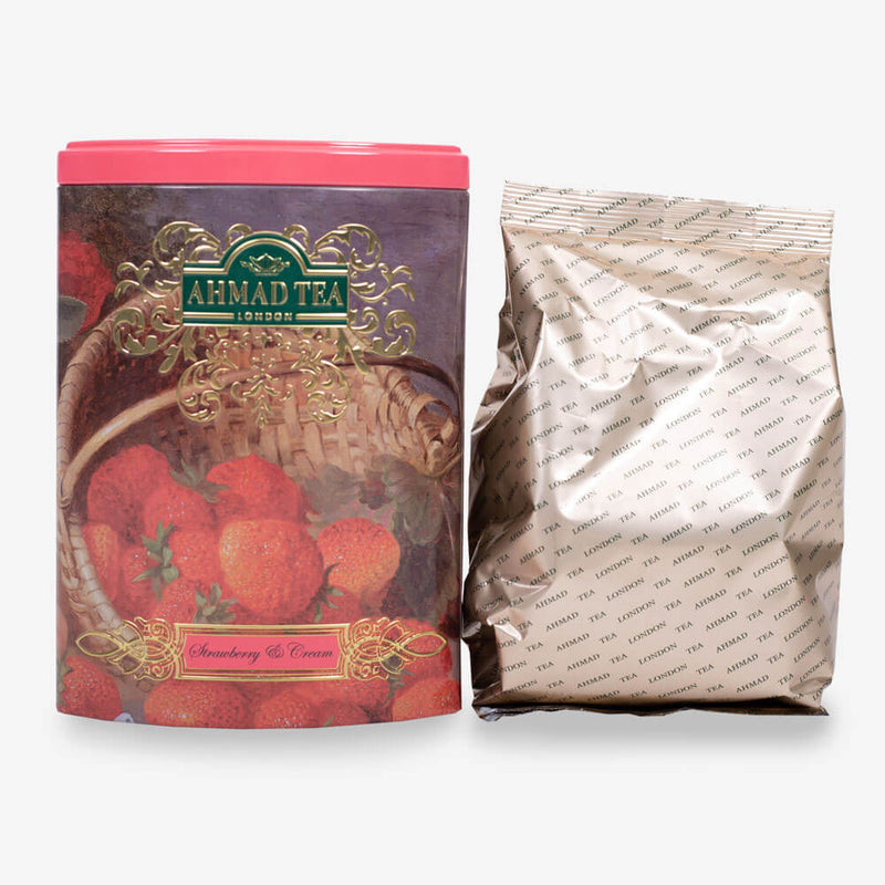 100g Loose Tea Caddy from Fine Tea Collection - Caddy and pouch