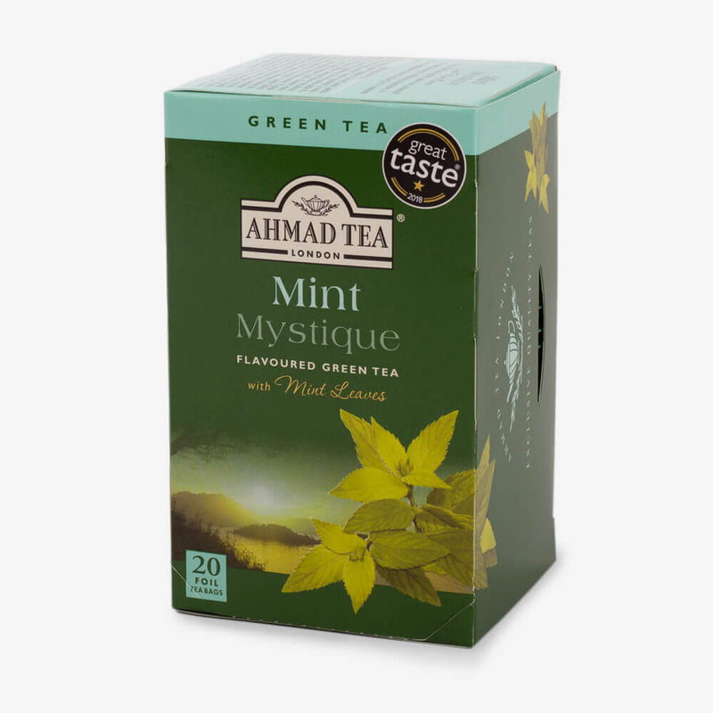 6 Packs of 20 Teabags - Side angle of box