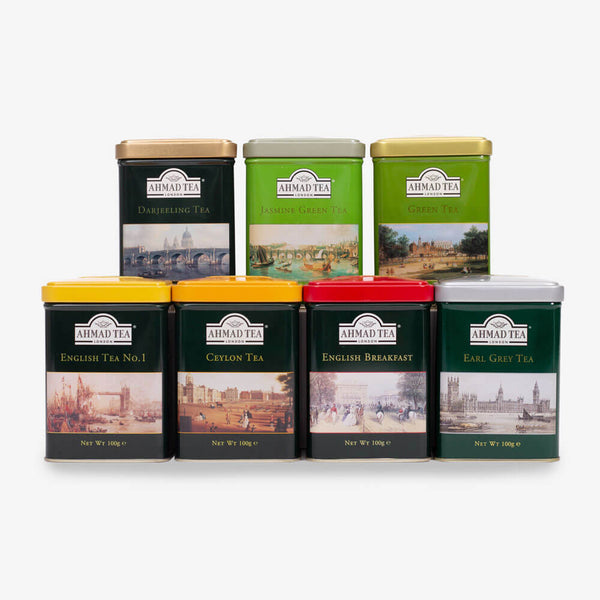 English Scene Collection Caddies Tea Bundle - 700g Loose Leaf
