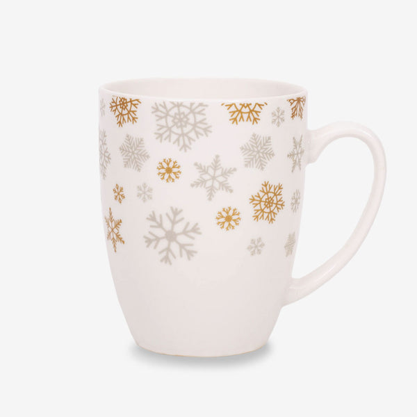 Ahmad Tea Christmas Snowflake Mug - Front of mug