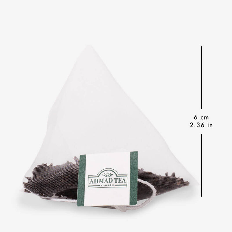 5 Packs of 15 Pyramid Teabags - Pyramid teabag