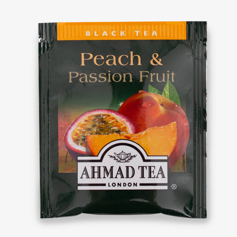 32 & 72 Teabags - Peach & Passion Fruit envelope
