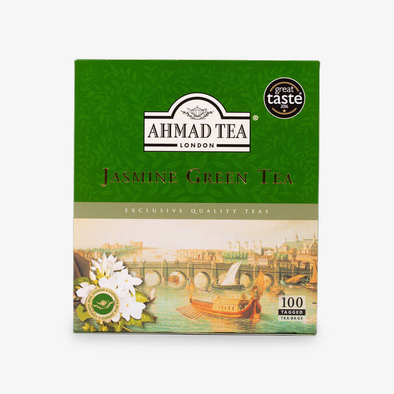 6 Packs of 100 Teabags - Front of box