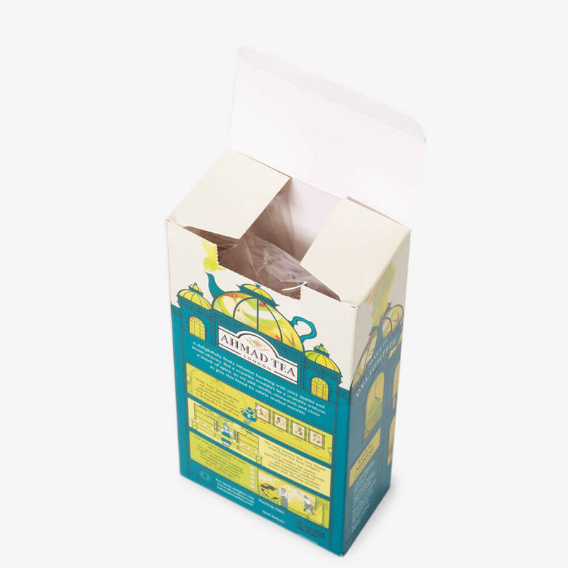 5 Packs of 15 Pyramid Teabags - Open box