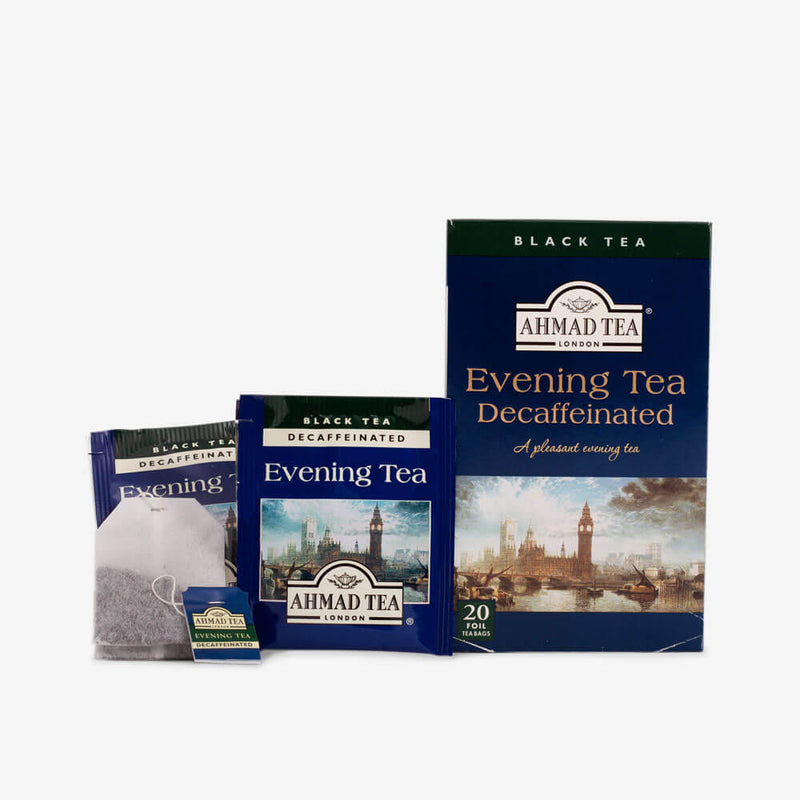 6 Packs of 20 Teabags - Box, envelope and teabag