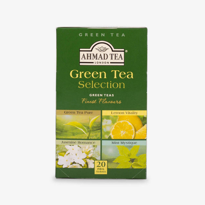 Twelve Teas Collection - Green Tea Selection box from front
