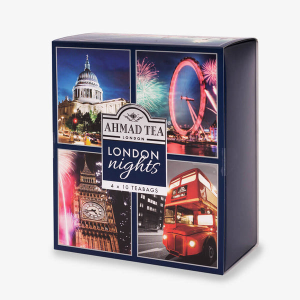 London Nights Collection - Side angle of box