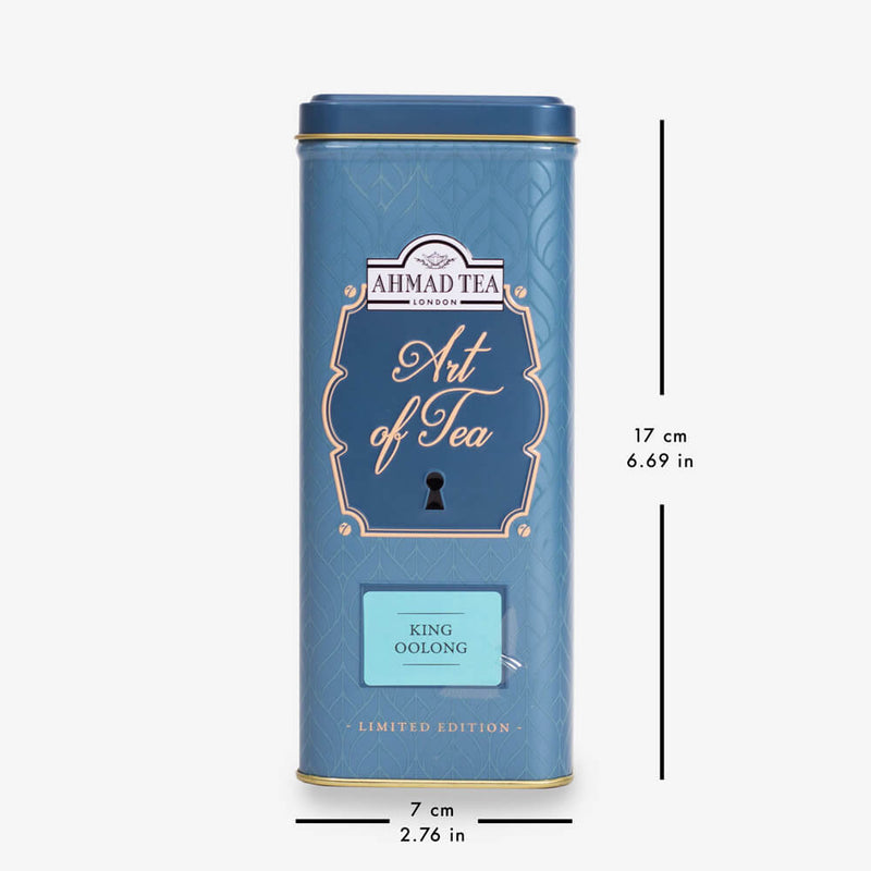 6 Packs of 100g Loose Tea Caddy from Art of Tea Collection - Caddy with dimensions