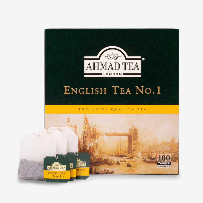 100 Teabags - Box and teabags