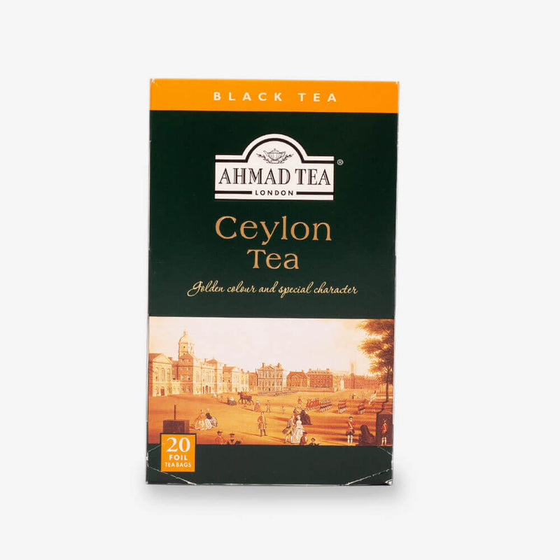 6 Packs of 20 Teabags - Front of box