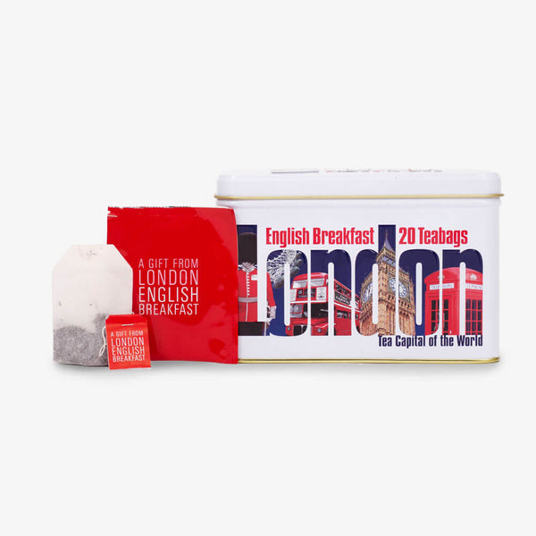 London Impression Caddy - Caddy, envelope and teabag